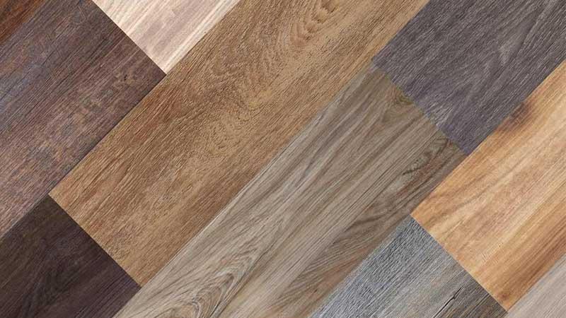 lantai sintetis vinyl motif kayu