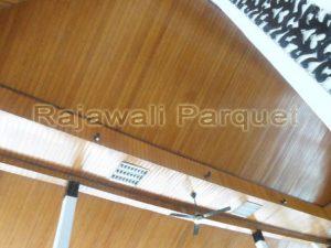 harga Plafon kayu lambersering murah Keruing by hargaparket.com