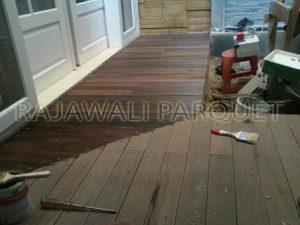 harga lantai kayu Ulin sulawesi murah