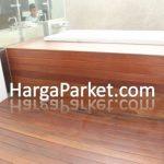 harga lantai kayu outdoor biaya pasang