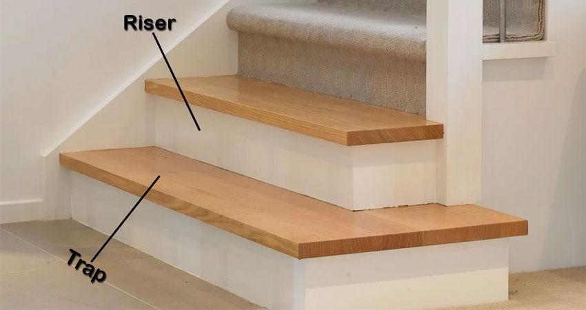 riser dan tread tangga minimalis