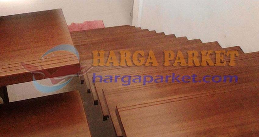 tangga kayu jati & merbau