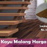 harga lantai kayu malang terbaru