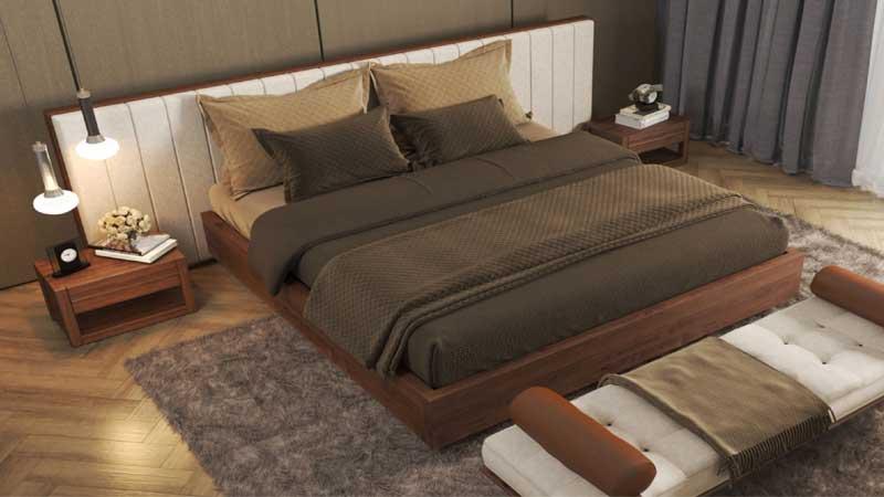 rekomendasi lantai kayu untuk kamar tidur minimalis modern