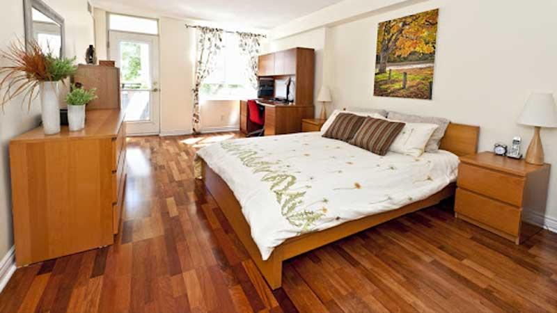 lantai kayu merbau untuk kamar tidur