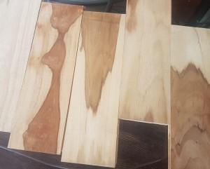 Lantai kayu Jati grade C