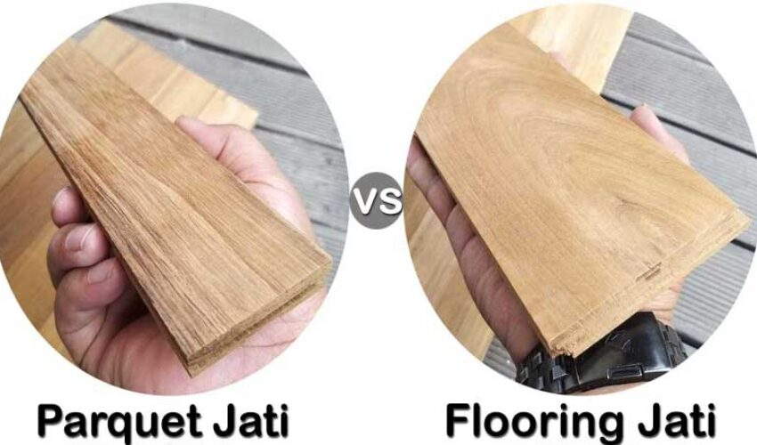 perbedaan flooring & parquet
