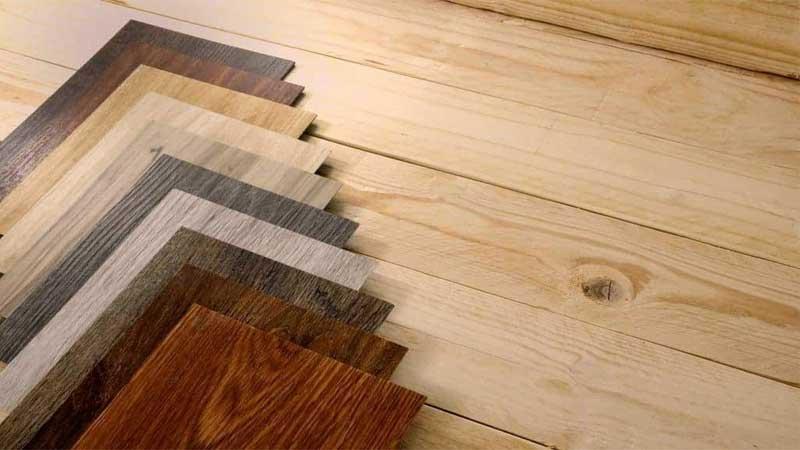 lantai vinyl memiliki motif yang bervariasi