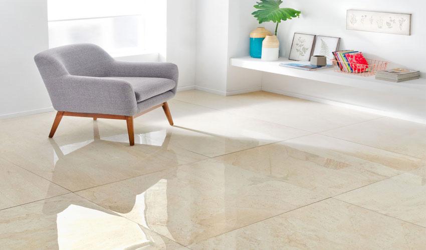 Desain rumah minimalis lantai keramik