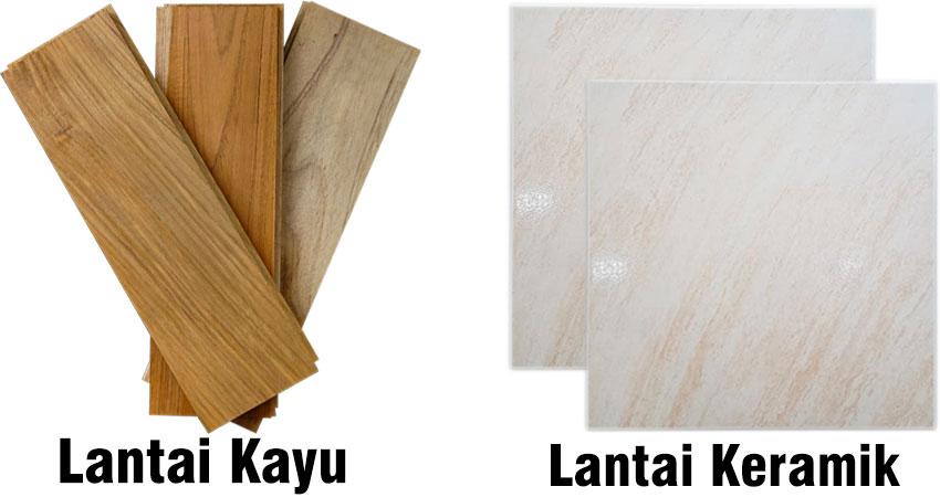 perbandingan harga lantai kayu dan keramik
