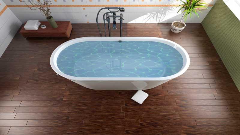 rekomendasi lantai kayu outdoor untuk kamar mandi minimalis