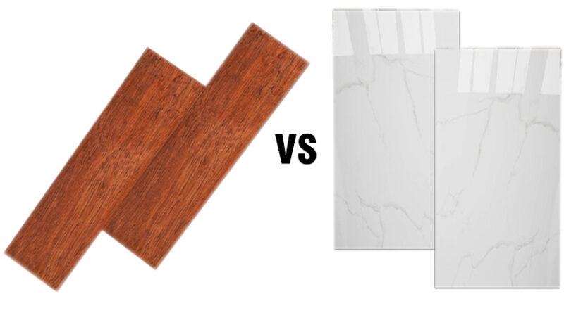 Perbandingan karakteristik keramik dan lantai kayu