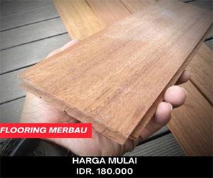 jual flooring merbau