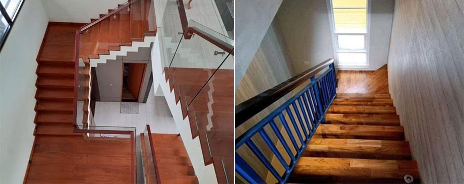papan tangga jati dan merbau