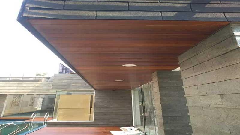 biaya pasang plafon kayu