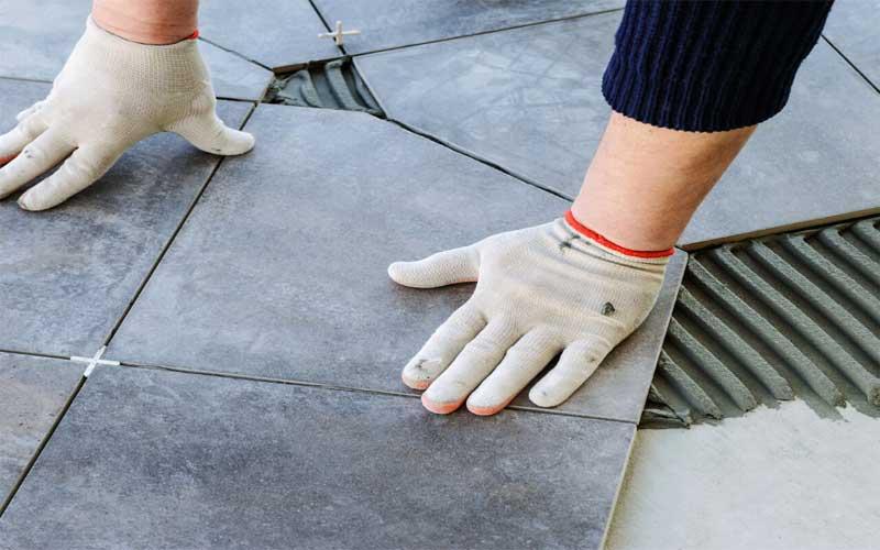 selain lantai keramik terdapat beberapa jenis lantai sebagai penggantinya