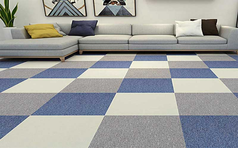 lantai karpet pengganti lantai keramik