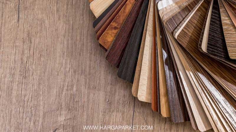 Lantai vinyl terbuat dari bahan PVC