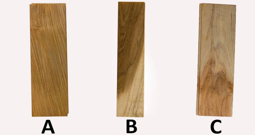 perbedaan grade lantai kayu jati