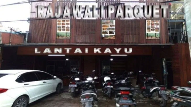 showroom penyedia lantai kayu di kota Bandung