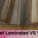 perbedaan lantai vinyl dengan lantai parket laminate