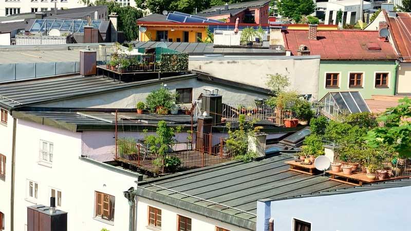 fungsi rooftop pada sebuah hunian yaitu?
