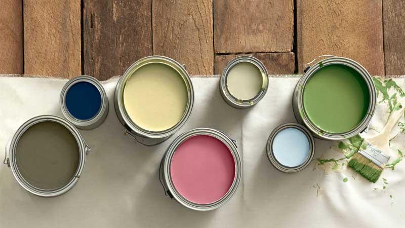 warna cat dapat menentukan karakter ruangan