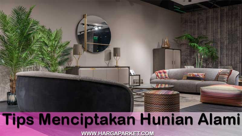 tips membangun rumah minimalis konsep alam