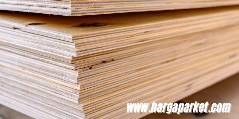 istilah kayu olahan - plywood