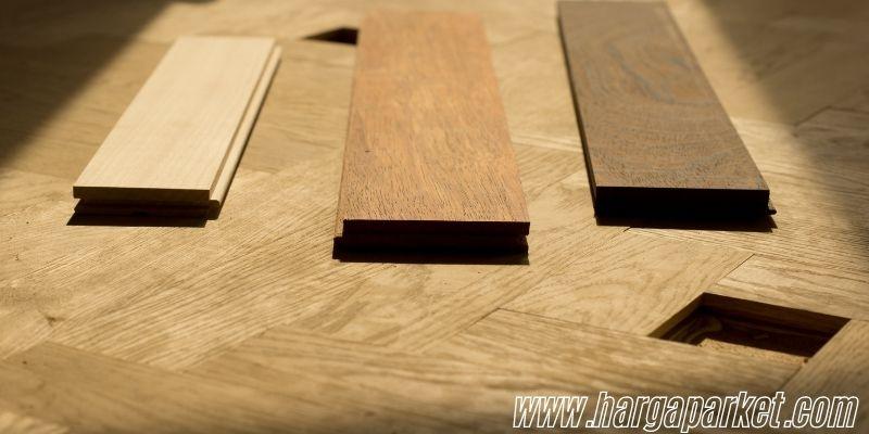 Material Lantai Kayu Solid