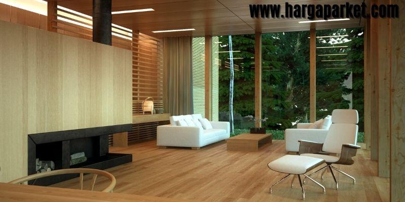 Material Lantai Terbaik  Untuk Ruang Tamu - lantai kayu sintetis