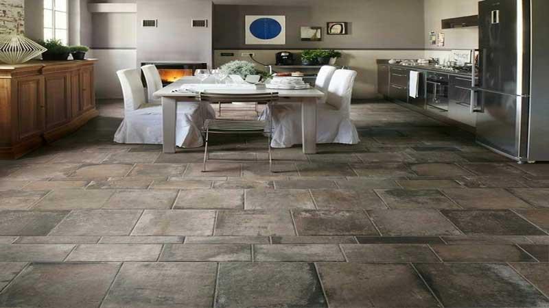 rekomendasi lantai batu alam untuk area dapur minimalis