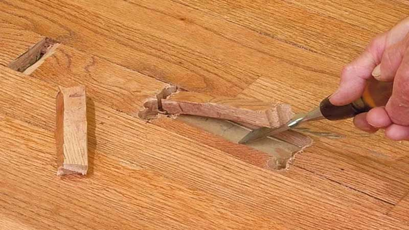 kekurangan menggunakan lantai kayu