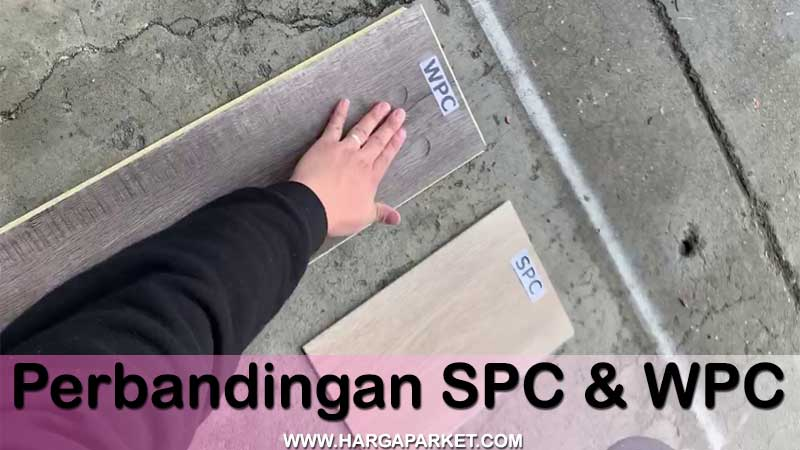apa bedanya lantai spc dengan lantai wpc?