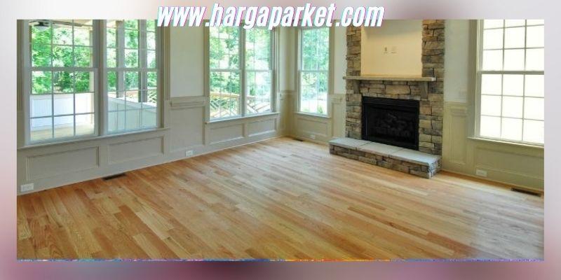 Ide Dekorasi Ruang Keluarga - menggunakan lantai kayu jati