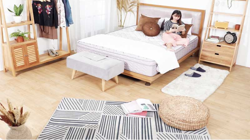 lantai motif kayu minimalis