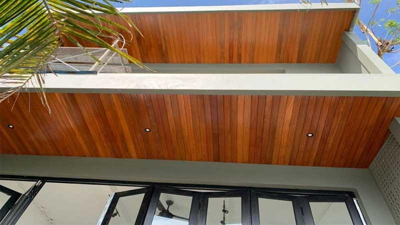 rekomendasi plafon kayu minimalis harga terbaru