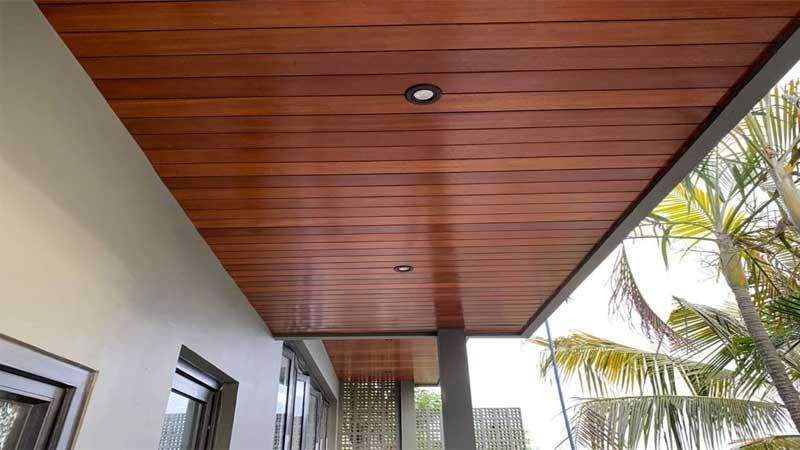 tampilan plafon rumah minimalis